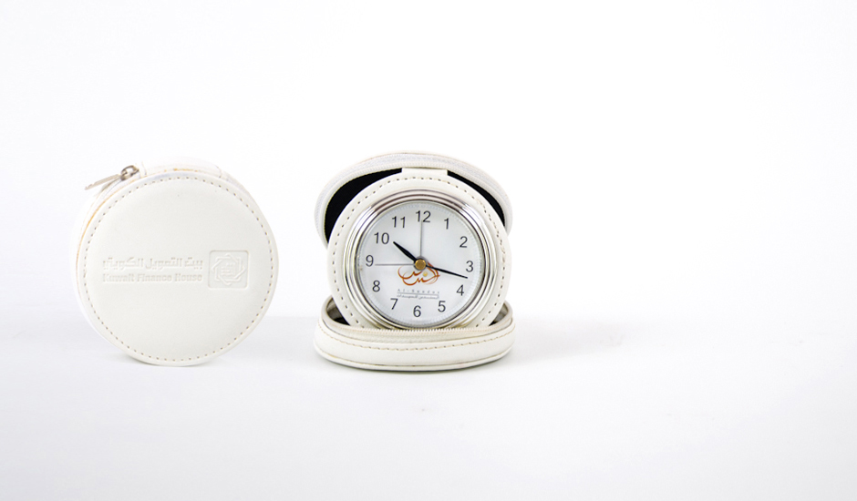 Foldable-clock-ITC-Promotion-Kuwait-Product- gulfnet