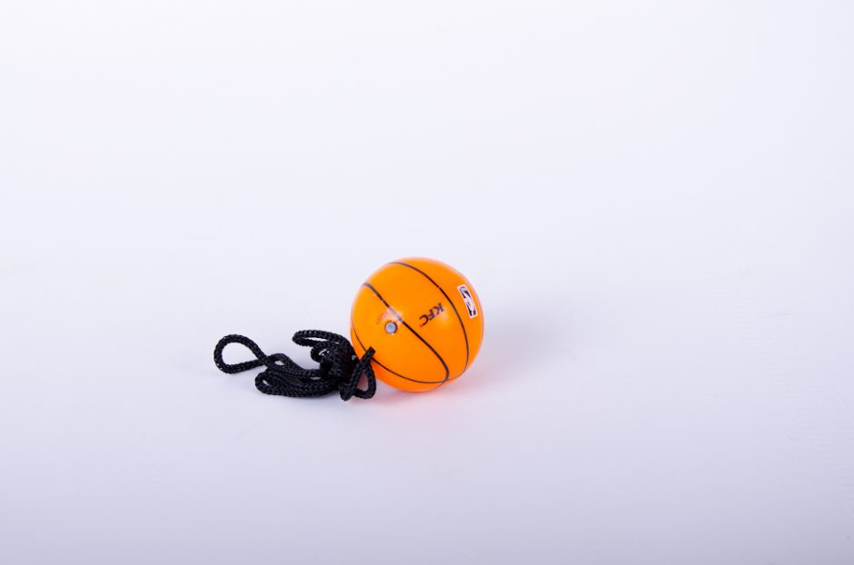 Basketball Promotional Keychain