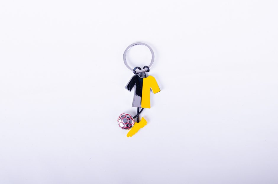 Football Shape Keychain