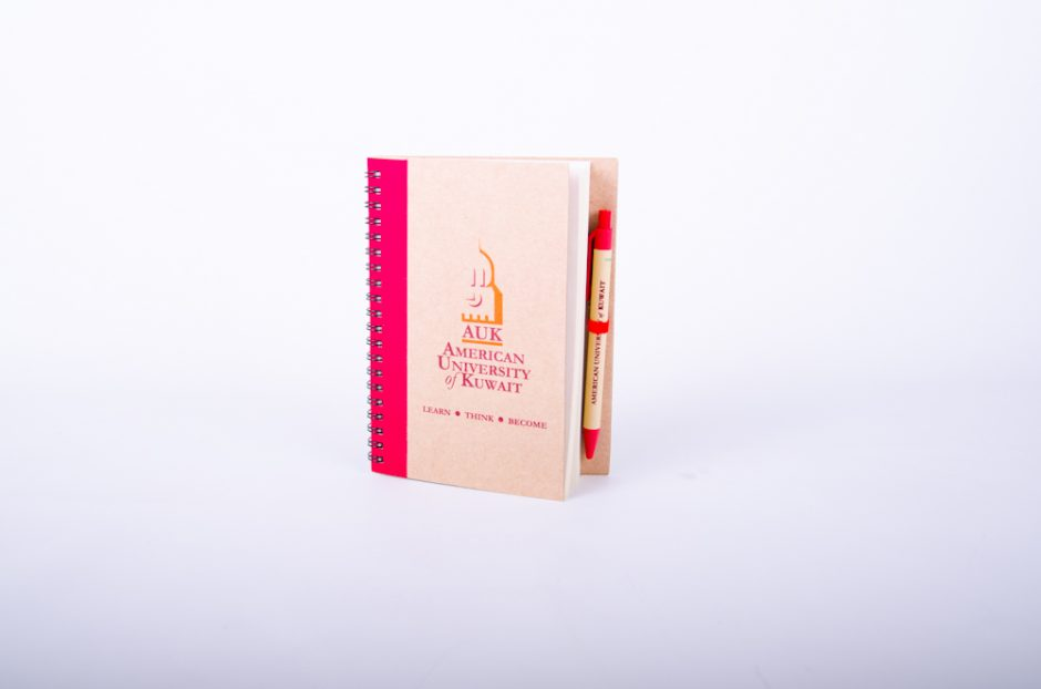Promotional Recycle Notebook with Pen